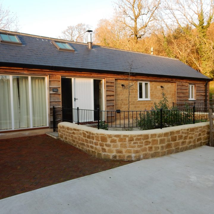 Completed barn conversion – Stoke Abbott