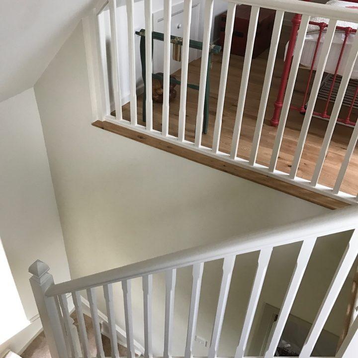 Re-furbished stairwell – Broadwindsor