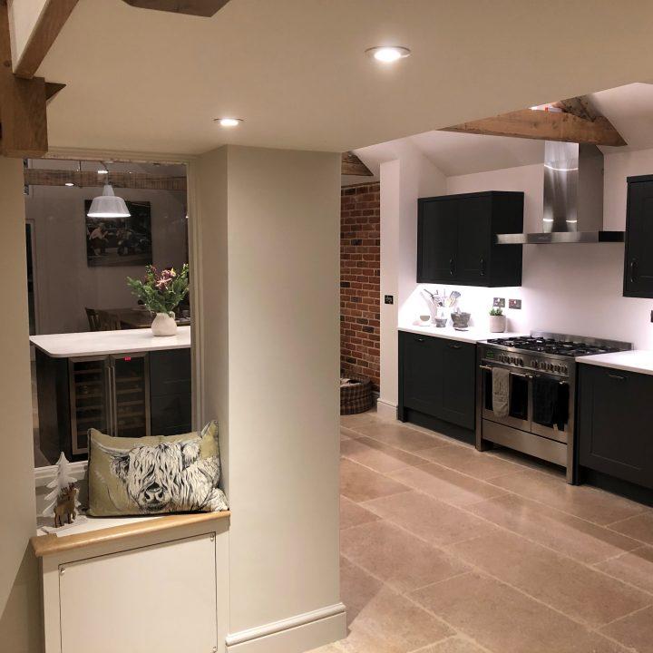 Finished Kitchen Extension – Burton Bradstock