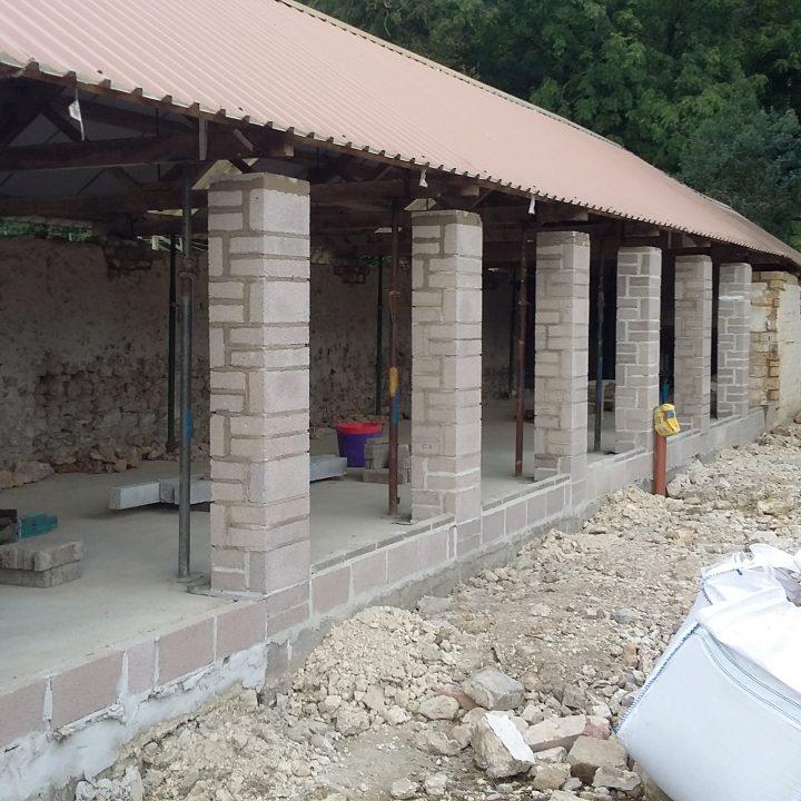 Start of barn conversion – Stoke Abbott