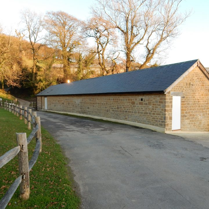 Barn re-pointing and new roof – Stoke Abbott