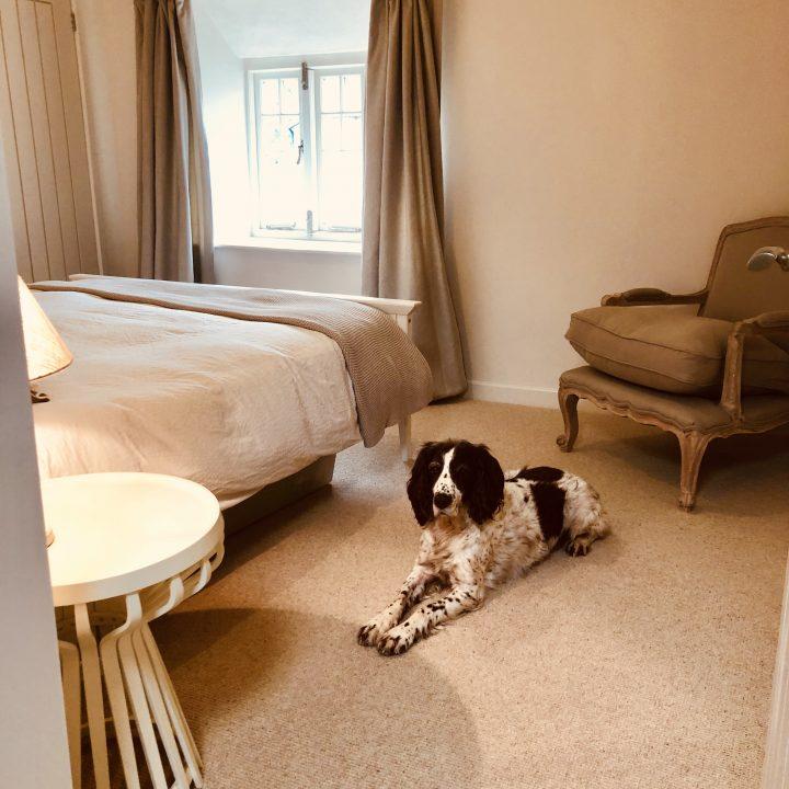 Re-decorated bedroom – Burton Bradstock