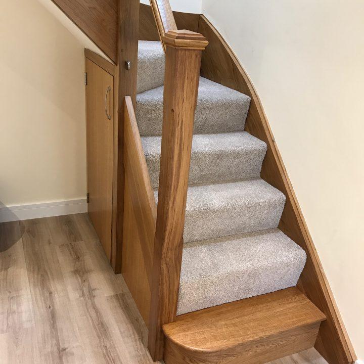 Oak staircase – Burstock