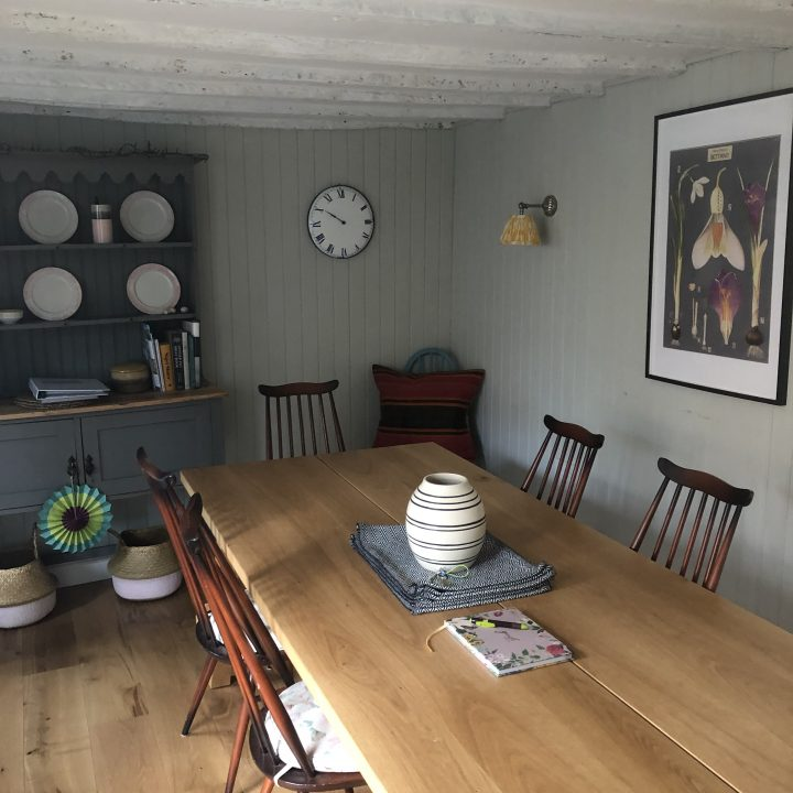Panelled dining room – Netherbury