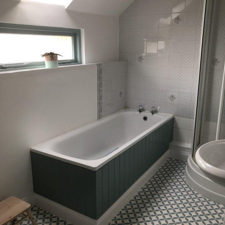 Re-furbished bathroom – Netherbury