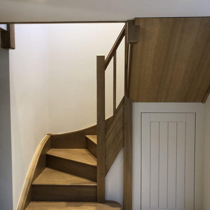 Under-stair storage – Burton Bradstock